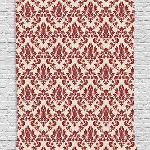 Tapestry Victorian Damask Wall Hanging Backdrop